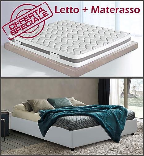 Letti Materassi E Materassi.Sararreda Promozione Golden Relax Letto Contenitore Sommier