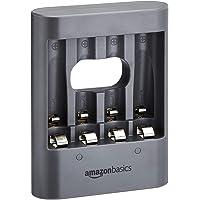 Amazon Basics - Cargador USB de Noche - carbón