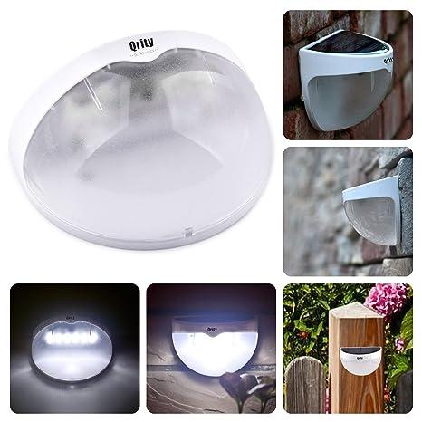 Luces de jardín, Lamparas Solares con Sensor de Movimiento,Focos para la Pared de