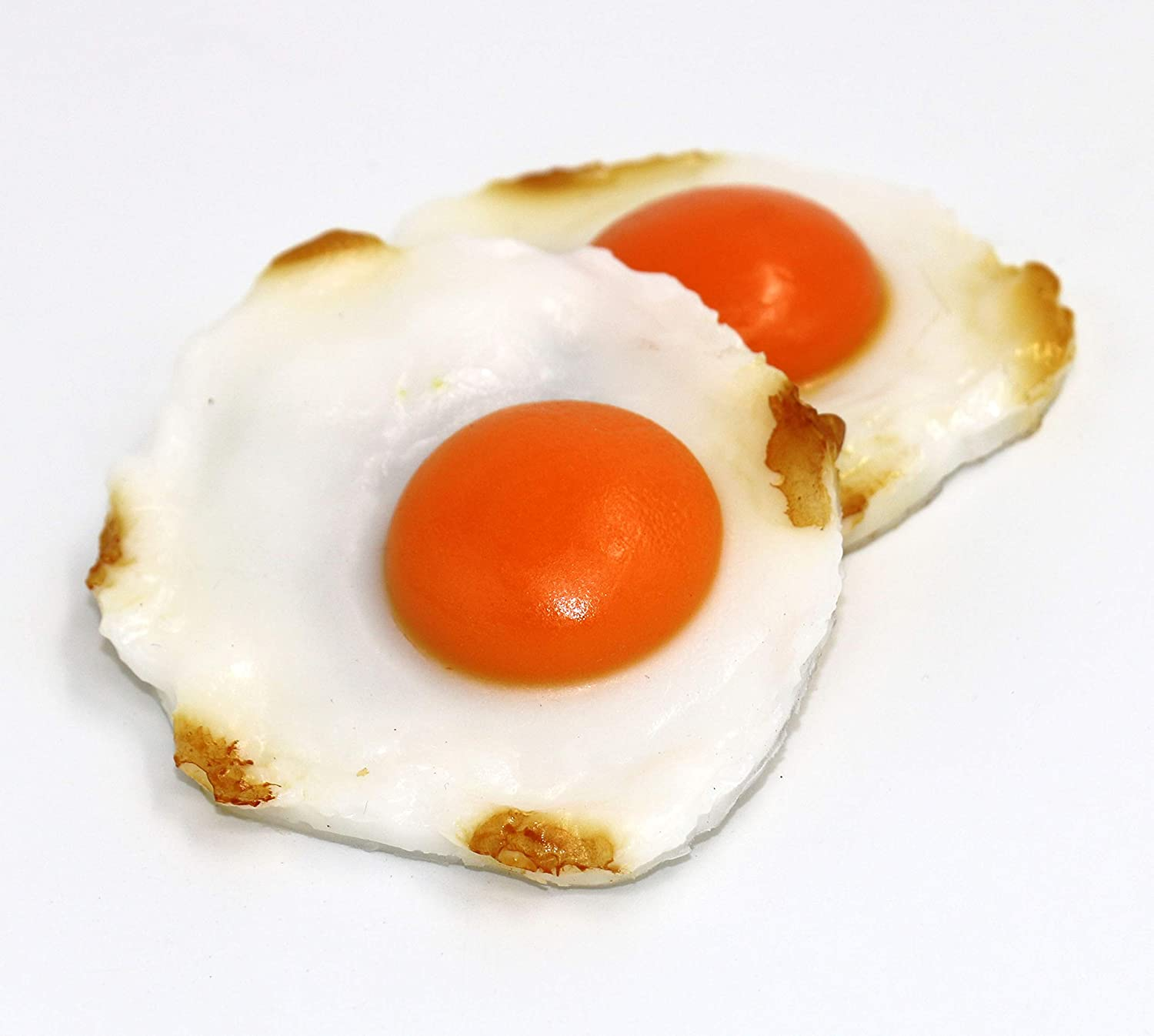 Nice purchase Artificial Fried Eggs Realistic Simulation Fake Food Lifelike Cooked Egg Model for Home Kitchen Party Display Decoration Props Prank