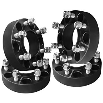 "4 piezas 1,5 ""negro hubcentric rueda espaciadores adaptadores 6 x 135 A"