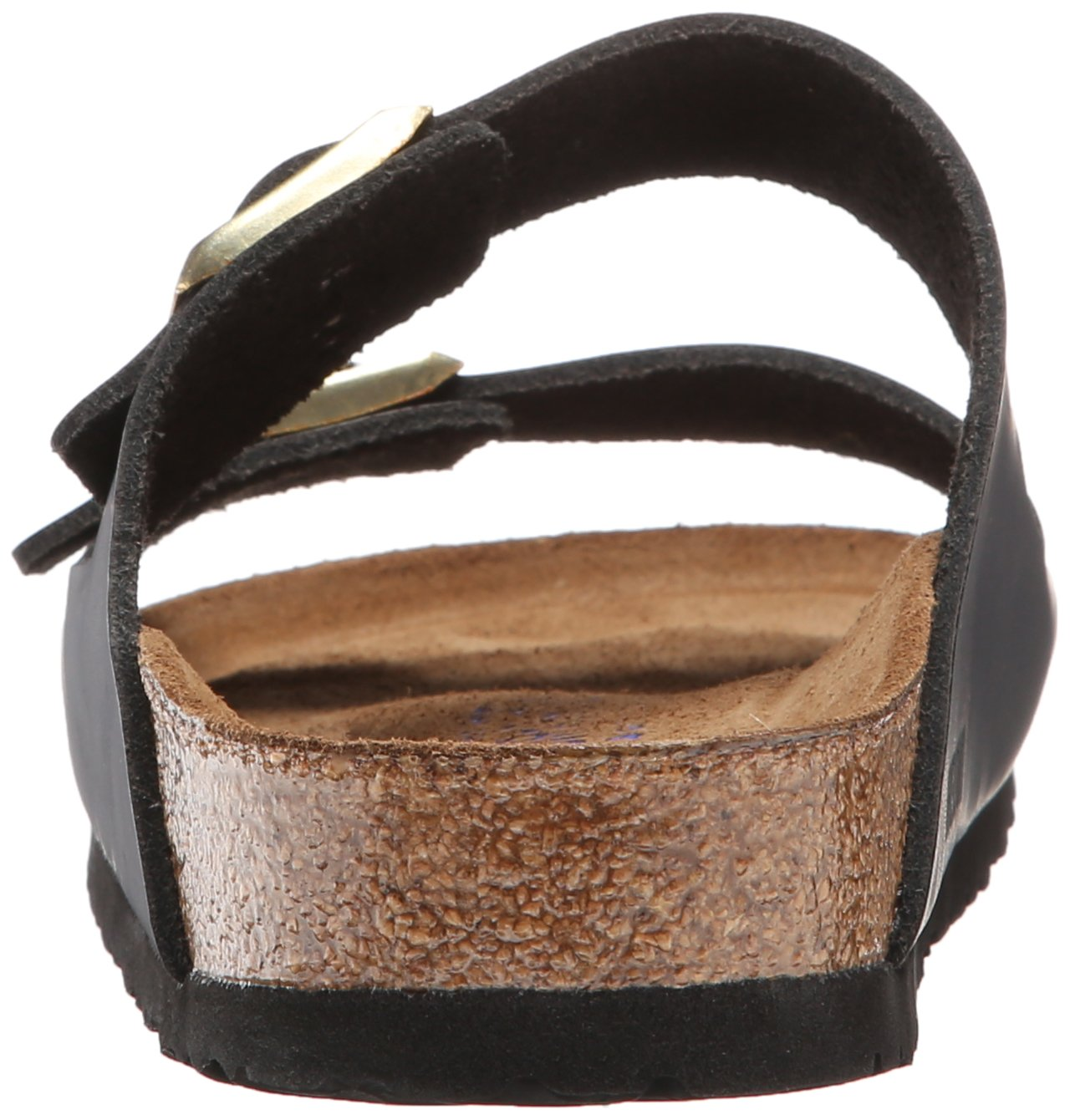 Birkenstock Unisex Arizona Hunter Black Leather Sandals - 9-9.5 2A(N) US Women/7-7.5 2A(N) US Men by Birkenstock (Image #2)