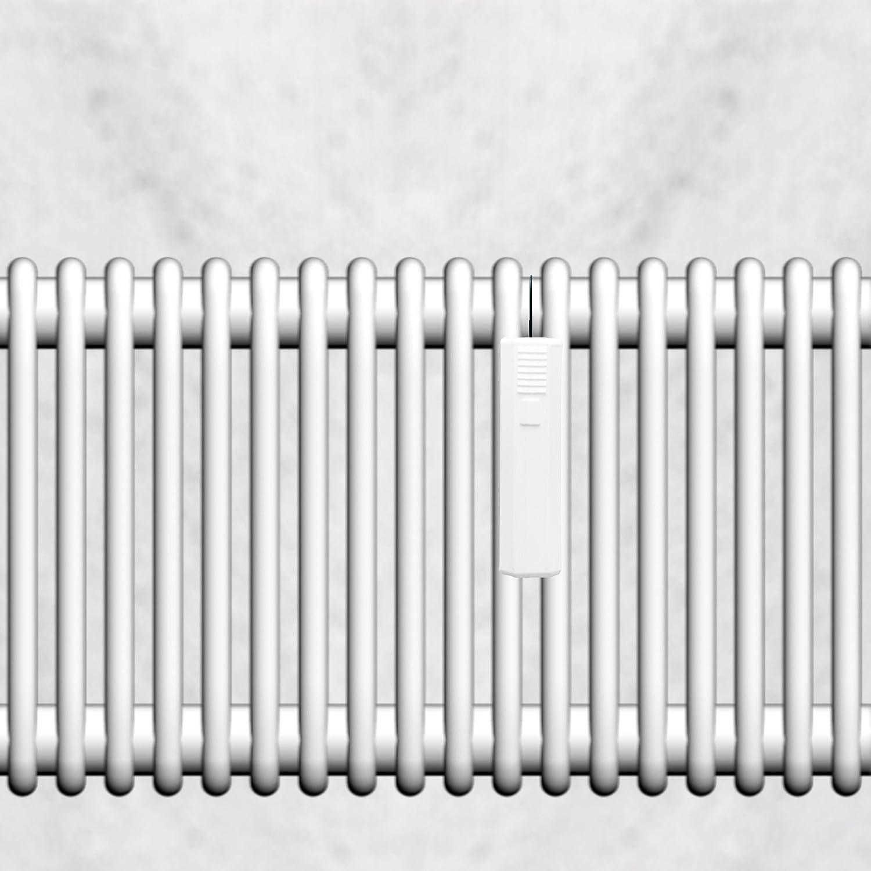 Lantelme 5/unidades humidificador para radiador trapezoidal en V de pl/ástico blanco 4593