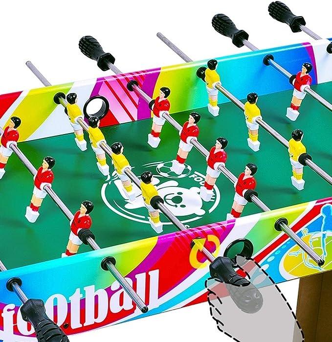 JBHURF Máquina de Madera futbolín, Mesa de Juego de fútbol ...