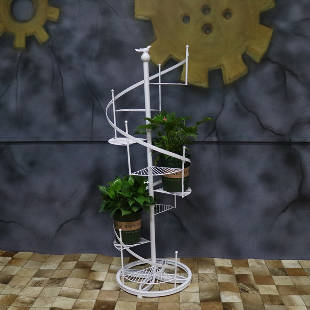 European flower/revolving staircase multi-storey flower racks/iron art bonsai frame/floor racks-A diameter120cm(47inch) by SHDUAYGSCXS