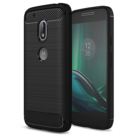 cheap for discount 42e7c 22e2d Moto G4 Play Case,Moto G Play 4th Generation Case,[Not fit Moto G4],AnoKe  Slim Carbon Fiber Scratch Resistant Shock Absorption Soft TPU Drawing ...