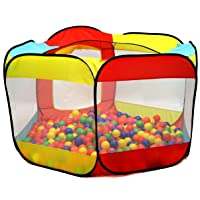 Deals on Kiddey Ball Pit Play Tent 6-Sided Ball Pit