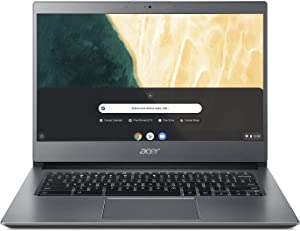 "Acer Chromebook 714 CB714-1WT-3447, 8th Gen Intel Core i3-8130U, 14"" Full HD Touchscreen, 8GB DDR4, 64GB eMMC, 802.11AC Wifi, Bluetooth, Aluminum Chassis"