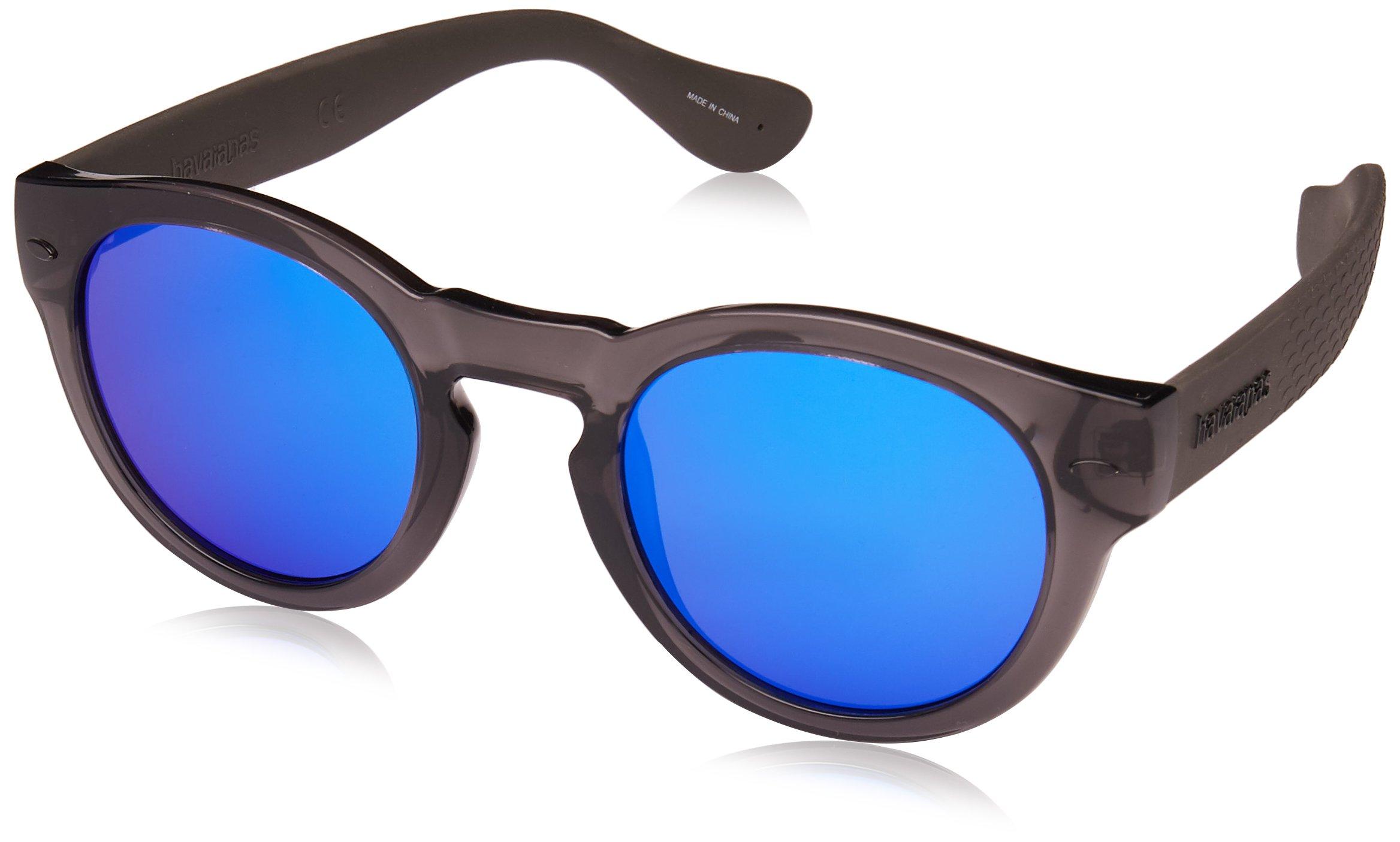 Havaianas Trancoso/m Round Sunglasses, Dark Grey, 49 mm by Havaianas