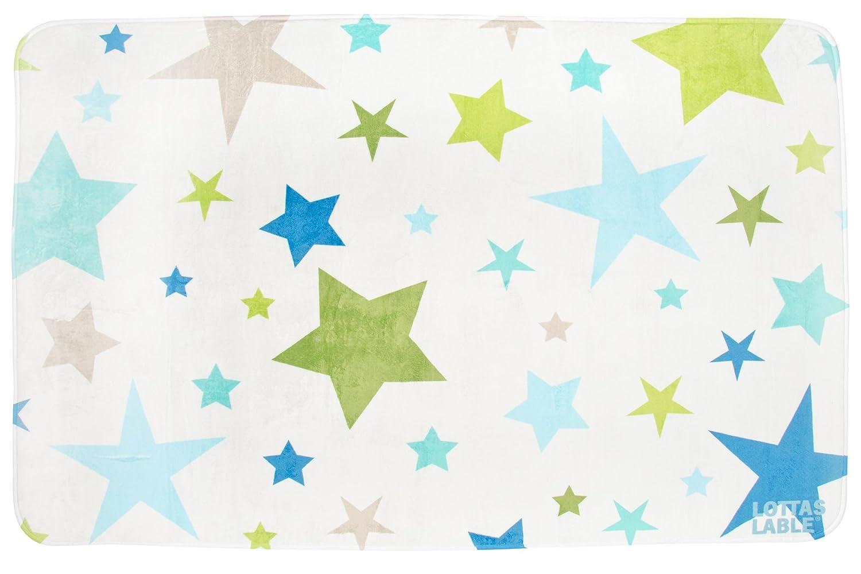 Lottas Lable Kinderzimmer Teppich Softie Multistar 190x130 cm ...
