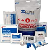 Xpress First Aid-59630 Emergency Trauma Pack with Bleed Control Granules
