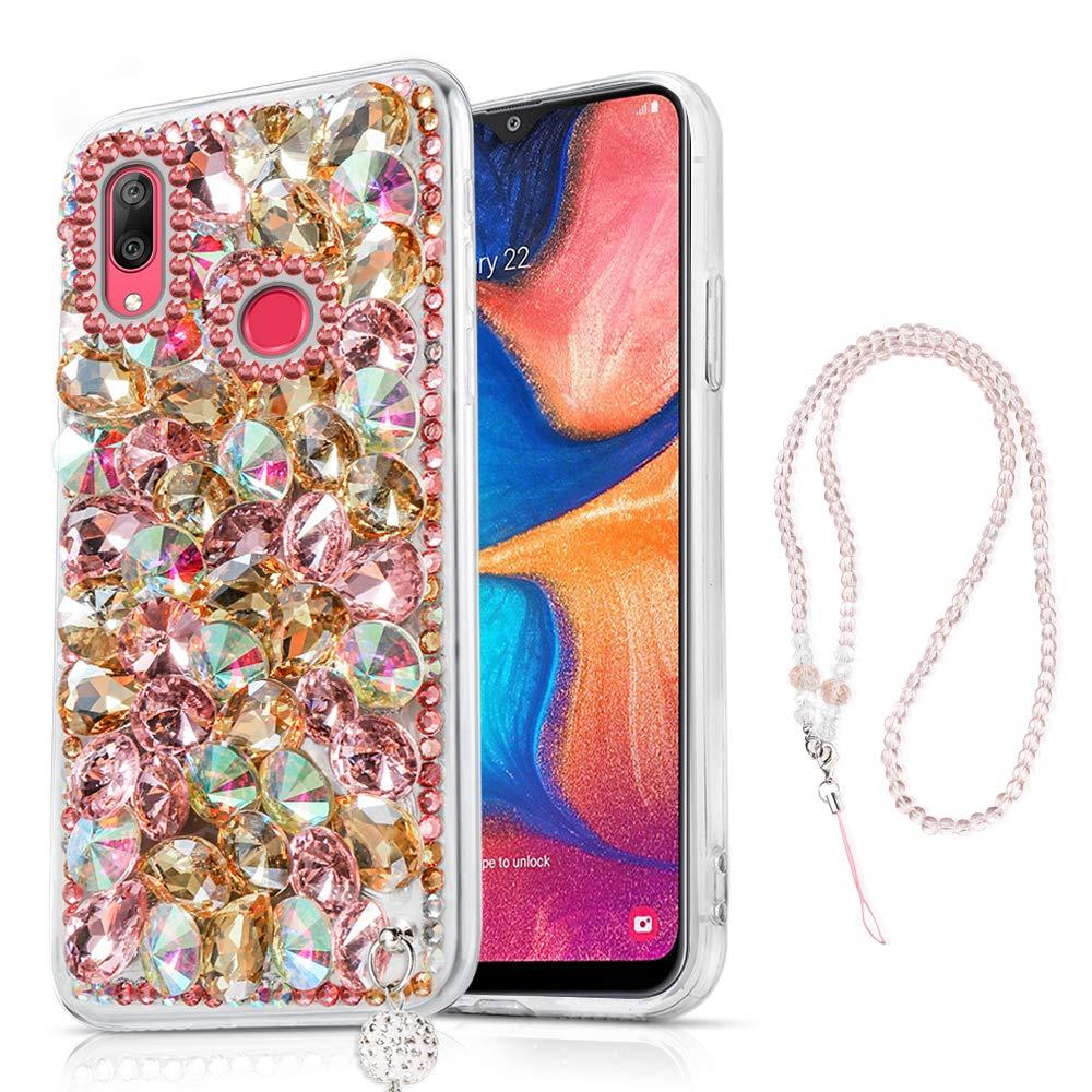 Amazon.com: Samsung Galaxy A20 A30 Case, Bling Glitter ...