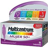 Multicentrum Mujer 50+, Complemento Alimenticio con 13 Vitaminas y 11 Minerales,…
