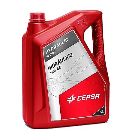 CEPSA 640333072 Aceite Mineral para maquinaria hidráulica, 5 ...