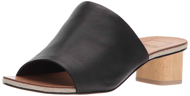 Dolce Vita Women's Kaira Slide Sandal B077NGYXHT 8.5 B(M) US|Black Leather