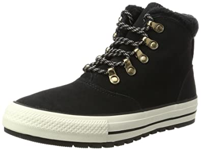 218030b5ca7 Converse Chuck Taylor All Stars Ember Boot Hi Women s Shoes Black Egret  557935c (5.5