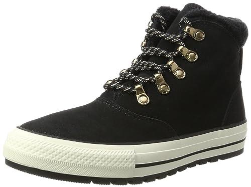 76e26fde7d67 Converse Unisex Adults  CTAS Ember Boot Hi Black Egret Boat Shoes ...