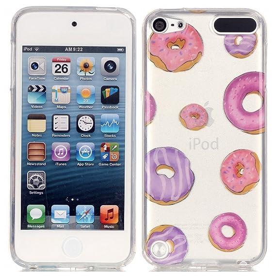super popular 4e465 4e476 iPod Touch 5th 6th Generation Case, Love Sound [Donut] Slim Fit [Drop  Protection] [Shock Absorbent] Premium Flexible Soft TPU Case Slim Case for  Apple ...