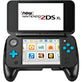 Grip per New Nintendo 2DS XL – Younik Grip e Supporto per Nintendo New 2DS XL 2017 ( Nero )