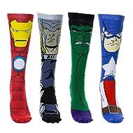 Marvel Avengers Boxed Socks Set - 4 Pack