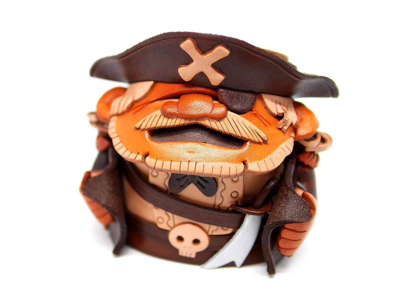 本革 メガネスタンド 海賊 【VANCA】【日本製、職人のハンドメイド】 B00CE5DAF6