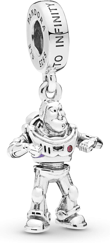 Disney Pixar,Toy Story charm plata de ley Alien,Woody,Buzz Lightyear,Jessie