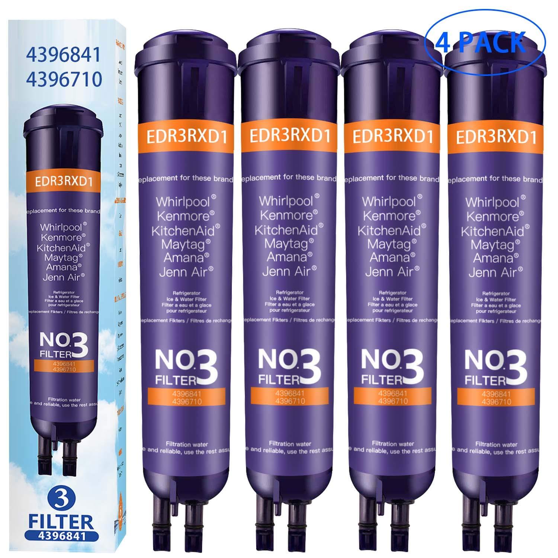 Ken-More 9030 Refrigerator Water Filter Compatible for Ken-More 469030 9083 469083 9020 469020 Water Filter (4 Pack)