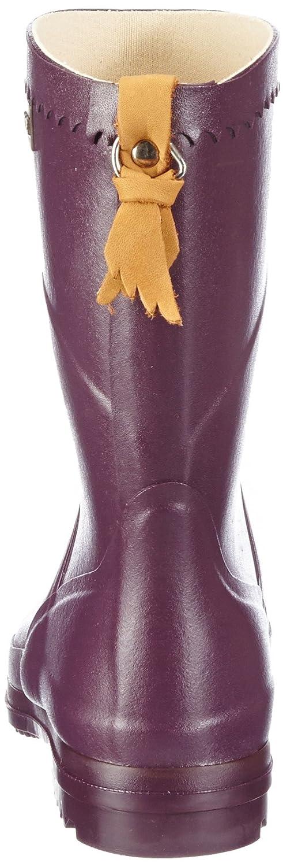 Aigle Damen Bison  Gummistiefel Gummistiefel Gummistiefel Violett (Aubergine 6) 86c59e