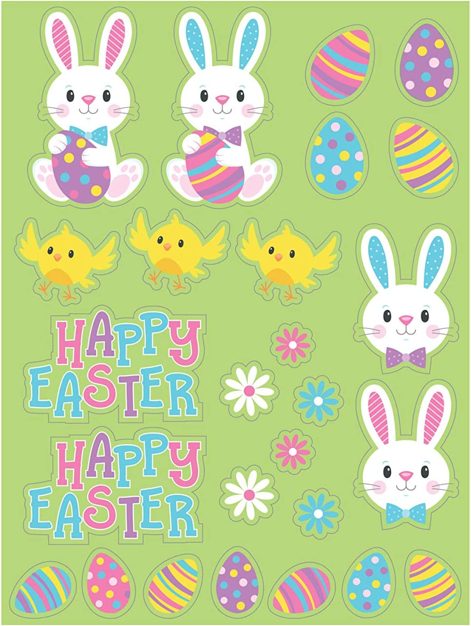 4 ct Easter Stickers