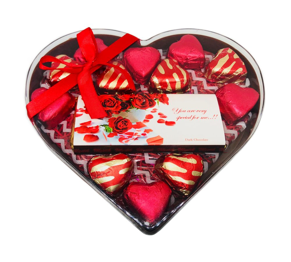 Mystik Valentine Day Heart Shape Chocolate Gift Box With Teddy Keychain Amazon In Grocery Gourmet Foods