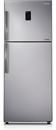 refrigerator amazon. samsung 393 l 4 star frost-free double door refrigerator (rt39hdjtesp, platinum inox amazon f
