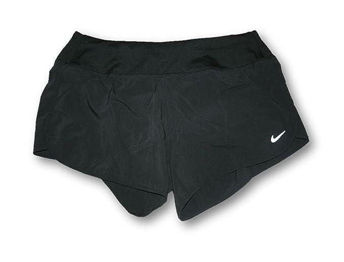 c67fea5087ee8 Nike Running Women's Brief Lined Rival Shorts (Medium) Black Short ...