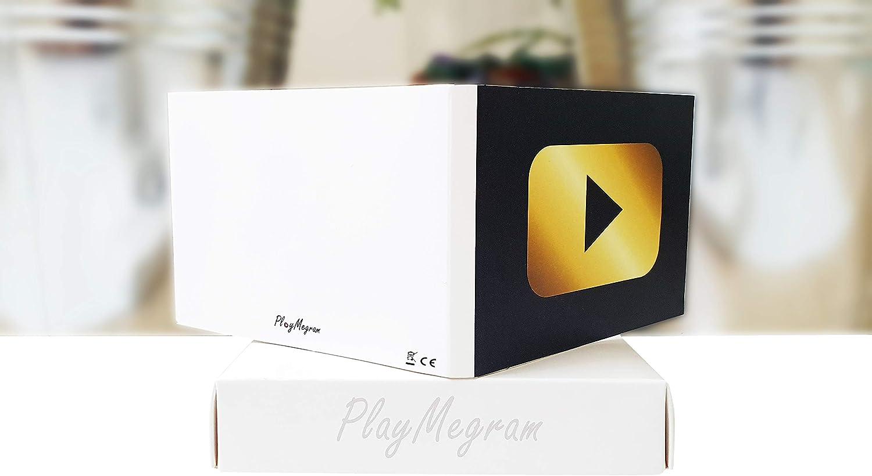 Biglietto di auguri audio con connessione USB e 8 MB di memoria Biglietto musicale MP3 Idea regalo creativa Per messaggi vocali e musica