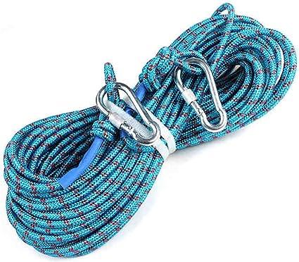 RENJUN - Cuerda de escalada de cuerda de rafpel, longitud de ...
