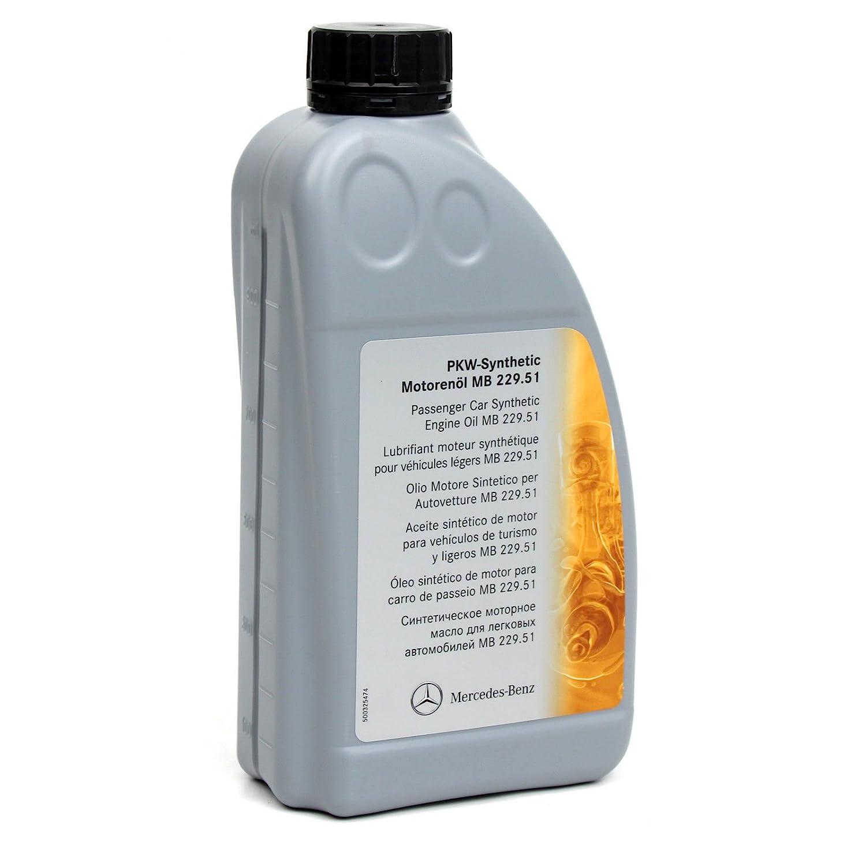 Aceite ORIGINAL Mercedes-Benz 5W30 MB 229.51 7 Litros + filtro aceite ORIGINAL 6111800009: Amazon.es: Coche y moto