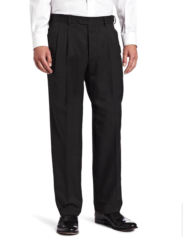 Black 32W x 32L Arrow Mens Pleated Micro Pant