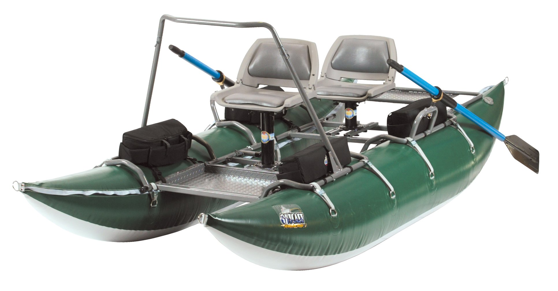 Outcast PAC 1200 Pontoon Boat with in the lower 48 US States and a $200 gift card by Outcast