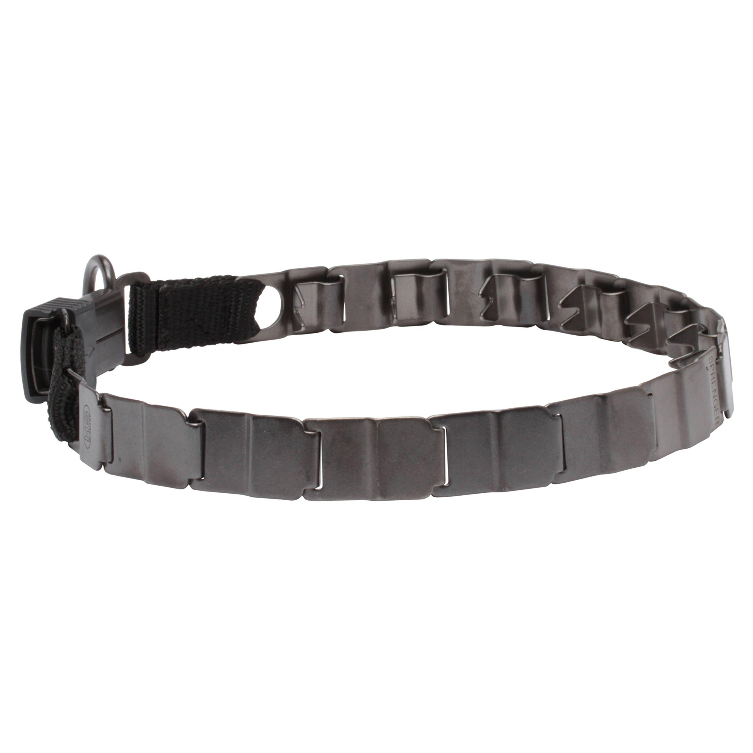 Herm Sprenger Neck Tech Sport Dogue de Bordeaux Collar of Stainless Steel Matt - 50050 (66) - Size 24 inch (60 cm)
