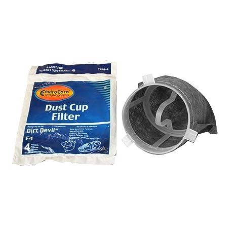 Amazon.com: Dirt Devil Hand Held aspirador tipo F4 filtro 4 ...