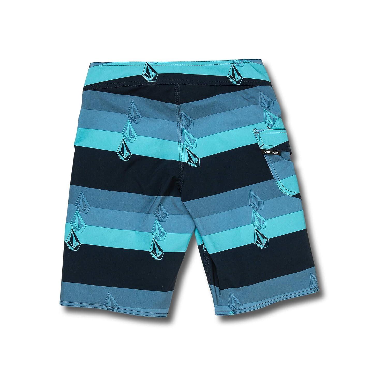 Volcom Big Boys Lido Liney 18 Stripey Boardshort