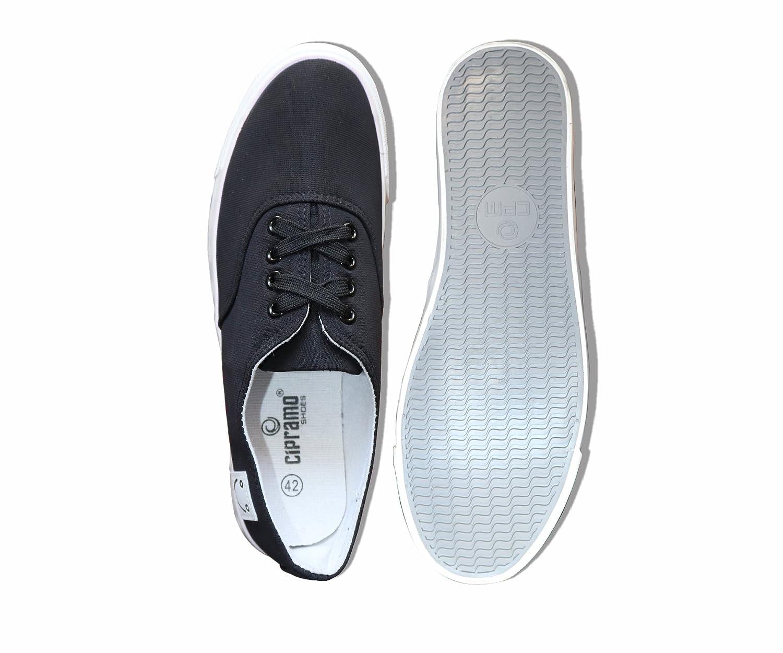 Buy Cipramo Men's Casual Black Sneaker