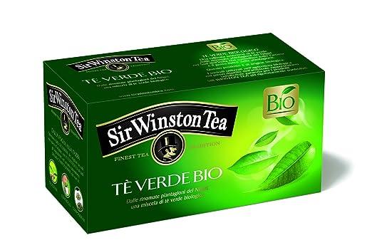 2 opinioni per Sir Winston Tea Infusione per Bevande Calde, Verde Biologico- 20 filtri-