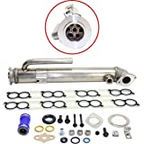 Upgraded Round EGR Cooler Assembly & Intake Gaskets 2003-2004 Ford 6.0L Powerstroke Diesel 6.0
