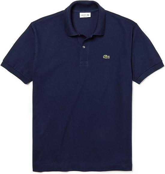 Lacoste L1212 Camiseta Polo, Azul (Marine), S (Talla del ...