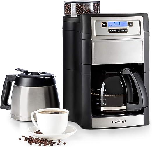 Klarstein Aromatica II Duo máquina de café con molinillo conico ...