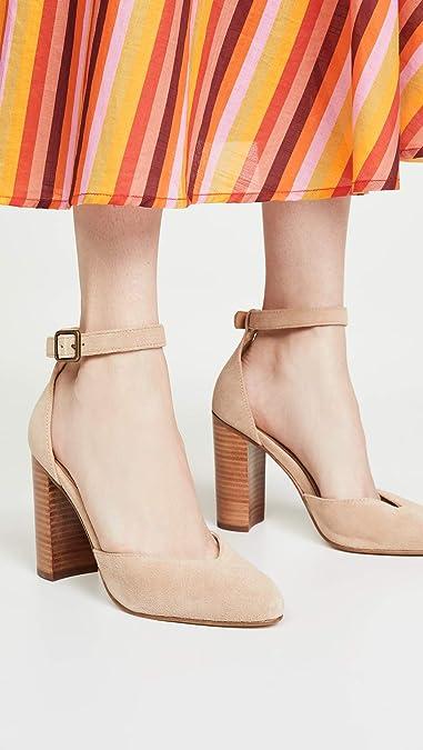 Amazon.com: Soludos Collette Block Heel Pumps - Zapatillas ...