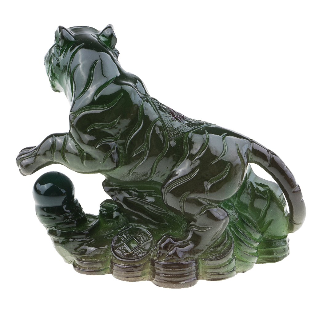 Gr/ün Affe Baoblaze 1 St/ück Tee Haustier Dekoration Garten-Figur Tischdekoration Ornament Zubeh/ör