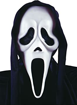 taglia unica multicolore Gifts 4 All Occasions Limited SHATCHI-1456 Maschera di spaventosa spaventosa spaventosa con pompetta di sangue finta