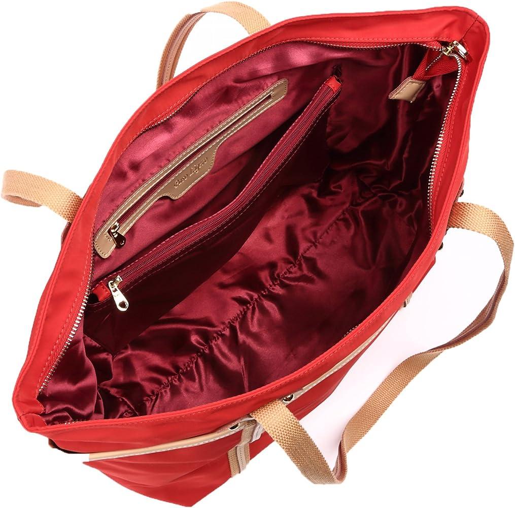 25dd525951c6d3 トートバッグ レディース 超軽量 防水 ナイロンバッグ 人気 A4 超軽量 通勤 通学 ママバッグ (Red(赤)) - Amazon Nhật    Fado.vn .
