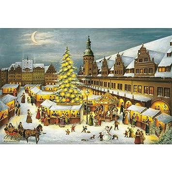 Leipziger Weihnachtsmarkt.Adventskalender Leipziger Weihnachtsmarkt